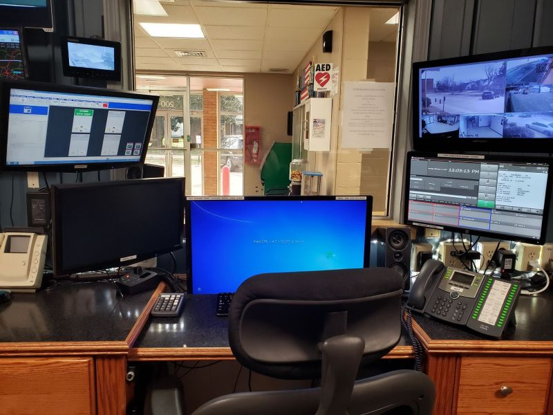 911 Communications Work Station